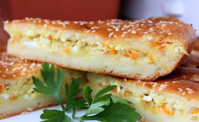 Заливной пирог с капустой: рецепт