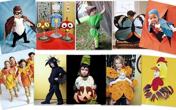Идеи детских костюмов для перевоплощения