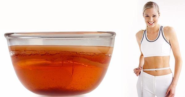 Как принимать чайный гриб с целью похудения