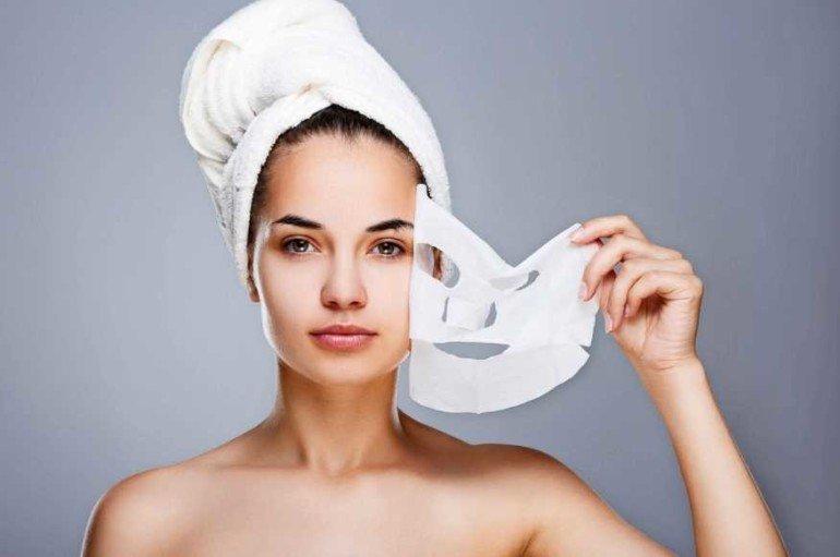 Как сделать тканевую маску для лица в домашних условиях?
