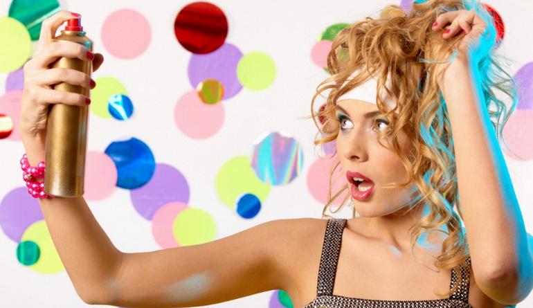 Как правильно пользоваться лаком для волос? Три главных правила