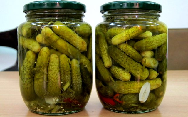 Огурцы на зиму: самый вкусный рецепт на 1 литровую банку