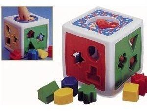 разноцветные фигуры кубик
