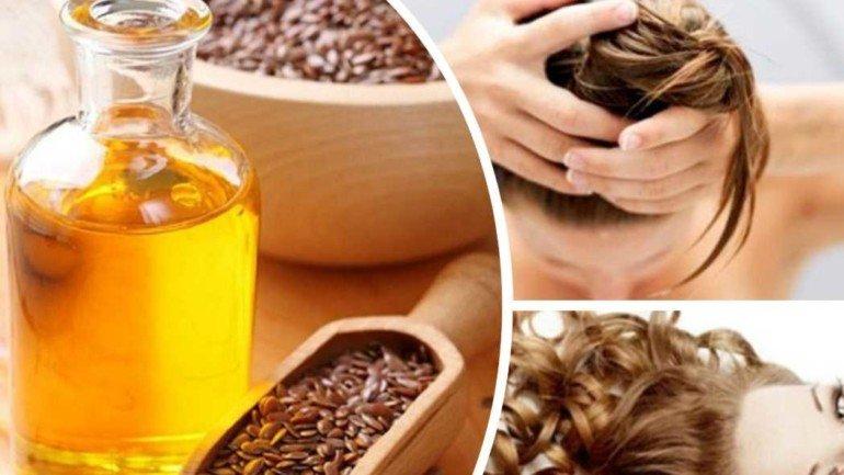 Как приготовить маску с льняным маслом для восстановления волос