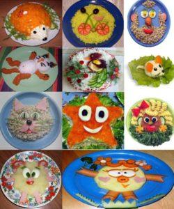 Фото детских блюд