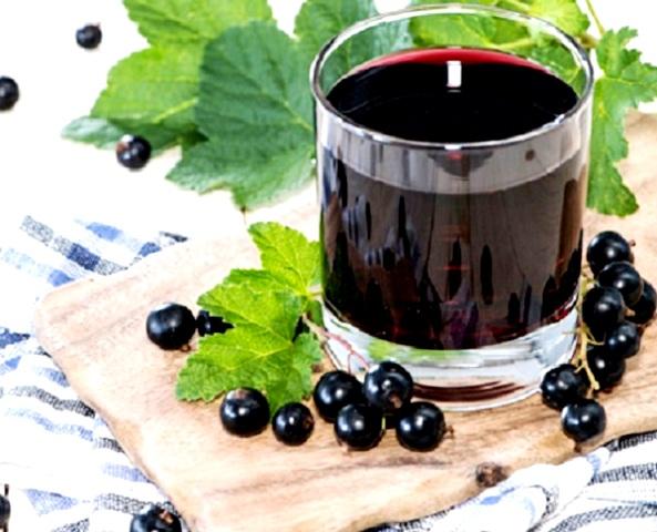 Чем полезен сок черной смородины