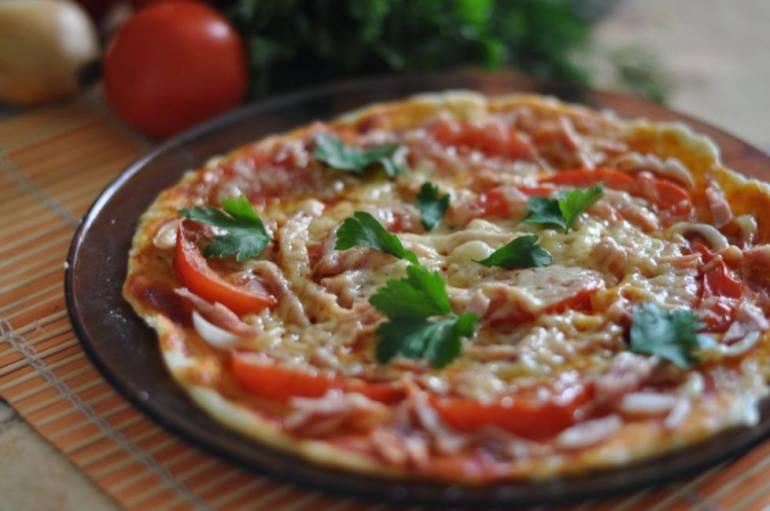 Как приготовить пиццу в микроволновке или духовке