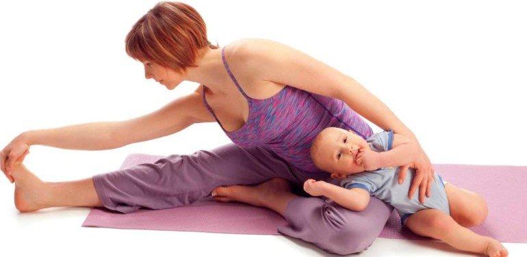 5 упражнений, которые не помогут в борьбе с животом после беременности