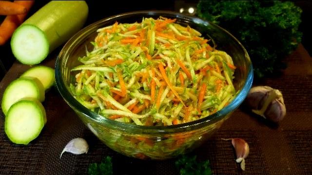 Кабачки по-корейски: самый вкусный рецепт на зиму