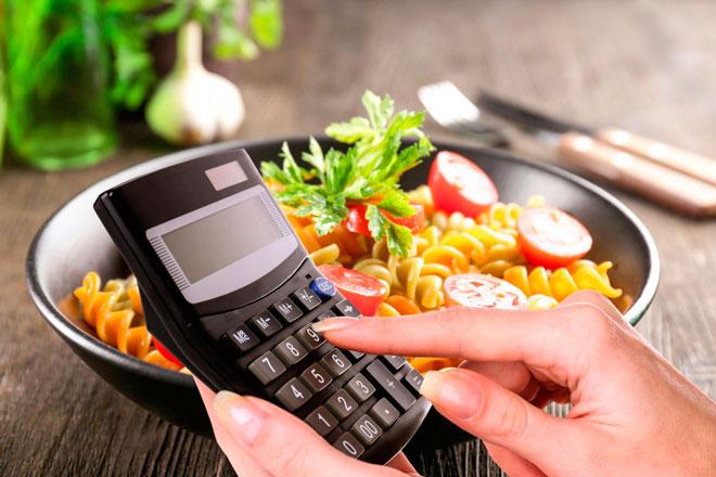 Расчет калорий для набора массы
