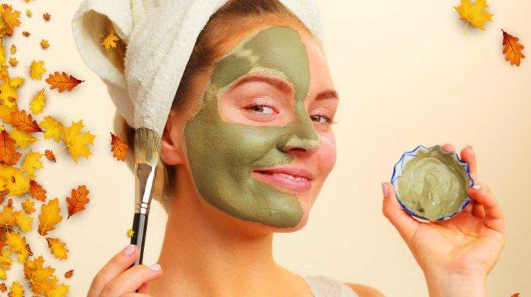 Домашние маски для лица из зеленой глины